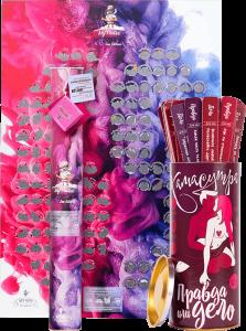 Подарок Подарочный суперкомплект 18+ (Скретч постер 'My Poster Sex edition' + настольная игра 'Правда или Дело: Камасутра')