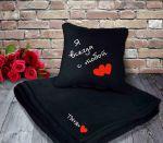 фото Подарок ко Дню святого Валентина: книга 'Стихотворения о любви' + подушка с пледом 'Я всегда с тобой' (суперкомплект) #2