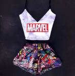 фото Подарок ко Дню святого Валентина: Пижама Swatti 'Marvel' + Настольная игра Fun Games Shop 'Правда или Дело: Камасутра' (суперкомплект) #2