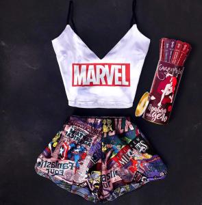 Подарок ко Дню святого Валентина: Пижама Swatti 'Marvel' + Настольная игра Fun Games Shop 'Правда или Дело: Камасутра' (суперкомплект)