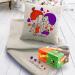 Подарок Подарок ко Дню святого Валентина: подушка с пледом 'I love you' +  блок жевательной резинки 'Love is...' Mix (суперкомплект)