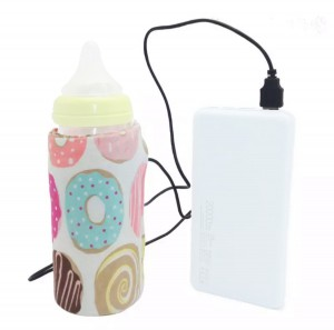 Электрический нагреватель для детских бутылочек с USB Laus BW01 Donuts