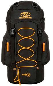фото Рюкзак туристический Highlander Rambler 25 Black/Orange (927533) #3