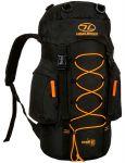 Рюкзак туристический Highlander Rambler 25 Black/Orange (927533)