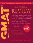 Книга The Official Guide for GMAT Review