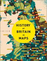 Книга History of Britain in Maps