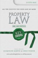 Книга Key Statutes: Property Law