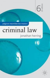 Книга Criminal Law