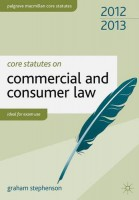 Книга Core Statutes on Commercial and Consumer Law 2012-13