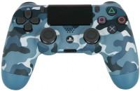 Джойстик Dualshock 4 для консоли PS4 (синий камуфляж) V2