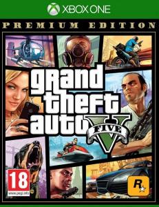 игра Grand Theft Auto 5 Premium Edition Xbox One - русская версия