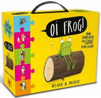 Книга Oi Frog! Book and Jigsaw Carry Case