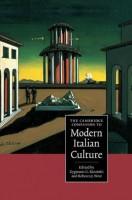 Книга The Cambridge Companion to Modern Italian Culture