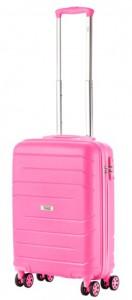 Чемодан TravelZ Big Bars (S) Pink (927273)