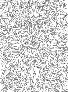 фото страниц Рисунки и узоры в стиле ар-нуво. Раскрашивай и отдыхай #5
