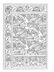 фото страниц Рисунки и узоры в стиле ар-нуво. Раскрашивай и отдыхай #8