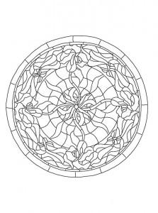 фото страниц Рисунки и узоры в стиле ар-нуво. Раскрашивай и отдыхай #3