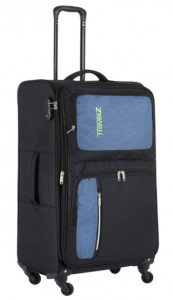 Чемодан TravelZ Triple Pocket (L) Black (927262)
