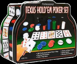 Настольная игра Metr+ 'Покер' (THS-153)