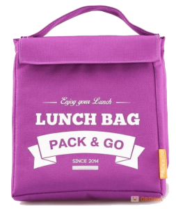 Термосумка ланч-бэг Pack&Go Lunch Bag M, фиолетовый