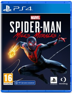 игра Marvel Spider-Man: Miles Morales PS4 - русская версия