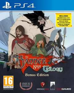 игра The Banner Saga Trilogy Bonus Edition PS4 - Русская версия