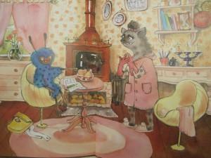 фото страниц Кот и мурлик. Незваный гость #13