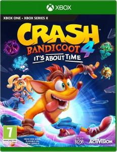 игра Crash Bandicoot 4: It`s About Time  Xbox One  - Русская версия