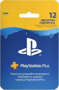 Подписка PlayStation Plus на 12 месяцев - UA