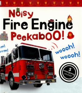 Книга Noisy Fire Engine Peekaboo!