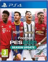 игра EFootball PES 2021 Season Update  PS4  - русская версия