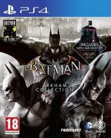 игра Batman Arkham Collection PS4 - русская версия
