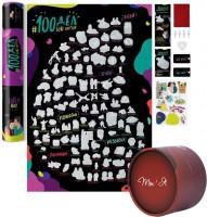 Подарок ко Дню святого Валентина: скретч-постер 'Love' + настольная игра 'Ты + Я' (суперкомплект)