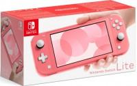 Приставка Игровая приставка Nintendo Switch Lite (кораллово-розовый)