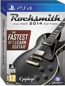 игра Rocksmith 2014 (Игра + Кабель для подсоединения гитары) PS4