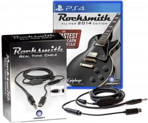 скриншот Rocksmith 2014 (Игра + Кабель для подсоединения гитары) PS4 #2