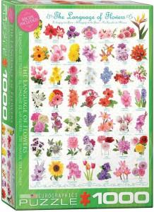Пазл EuroGraphics 'Язык цветов', 1000 эл. (6000-0579)