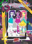 Книга Живая раскраска 'Девочки из Эквестрии. Сумеречная Искорка, Флаттершай и Рарити'