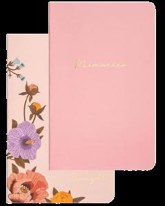 Набор мини-блокнотов Chiori Pink (розовый и цветочный) (R1122)