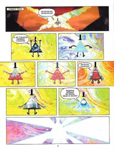 фото страниц Гравіті Фолз. Комікси. Дивногеддон #4