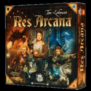 Настільна гра Geekach Games 'Res Arcana'
