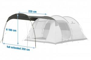 фото Палатка Ferrino Proxes 4 Blue (92138IBB) #2