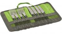 Набор для барбекю Outwell BBQ Cutlery Set Green (650666)