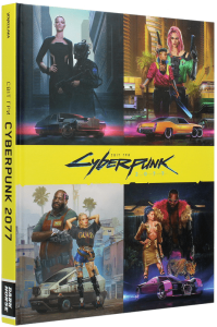 Книга Світ гри Cyberpunk 2077