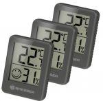 Термометр-гигрометр Bresser Temeo Hygro Indicator (3шт) Grey (7000010QT5000)