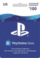 Ключ для пополнения на $100 PSN Gift Card Code (USA)