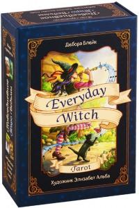 Книга Everyday Witch Tarot. Повседневное Таро ведьмы (78 карт и руководство)