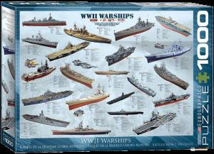 Пазл EuroGraphics 'Корабли 2-й Мировой войны', 1000 элементов (6000-0133)