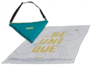 Полотенце из микрофибры Uquip Softy 90x180 cm Grey (247310) (DAS301080)