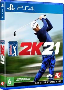игра PGA Tour 2K21 PS4